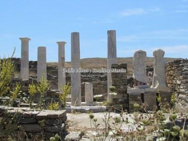 Iles Cyclades - Île de Delos - Maison de Cléopatre