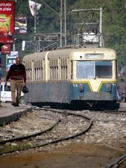 Le Caire - Tram avant qu'il ne disparaisse