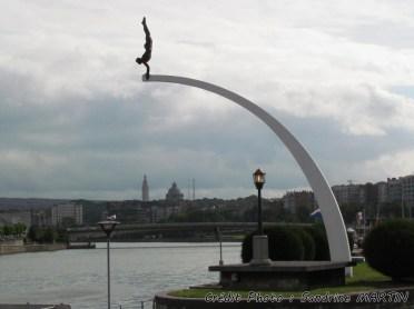 Liège - Au bord de la Meuse