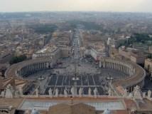 Vatican - Vue de la coupole