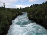 Entre Taupo et Auckland, rivière