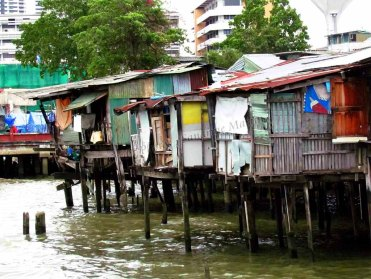 Bangkok - Chao Phraya Rivière