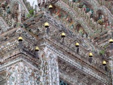 Bangkok - Ile de Rattanakosin - Temple 'Wat Arun'