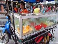 Ko Samui - Chaweng, vendeur de fruits