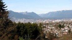 Vancouver - Queen Elizabeth Park, vue sur la ville