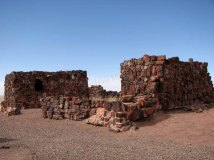 Arizona - Parc national Petrified Forest - Agathe house