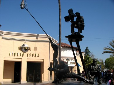 Californie - Los Angeles - Hollywood Studio - Amusement Park - Equipe de tournage