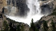 Californie - Parc National Yosemite - Ribbon fall