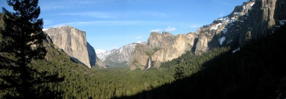 Californie - Parc National Yosemite - Wanona road - panorama
