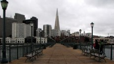 Californie - San Francisco - Waterfront - promenade