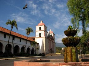 Californie - Santa Barbara - Mission
