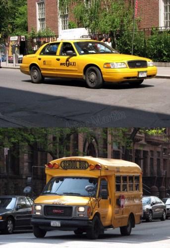 New-York - Manhattan, au hasard des rues, les transports