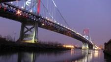 Pennsylvanie - Philadelphie - Benjamin Franklin bridge