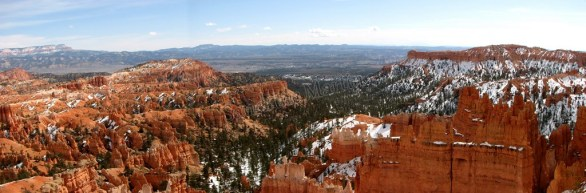Utah - Parc national Bryce - Panorama