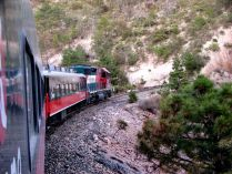 Chihuahua - Copper Canyon - El devisadero, train