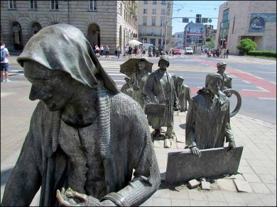 Wroclaw - Au hasard des rues, statues
