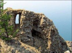 Ile d'Olkhon - Cap Khoboï, fenêtre naturelle