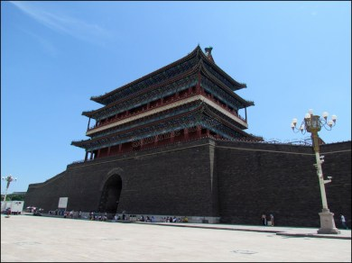 Beijing - Tian'Anmen, porte 'Face au Soleil'
