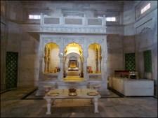 Jodhpur - Mausolée Jaswanth Thada, intérieur