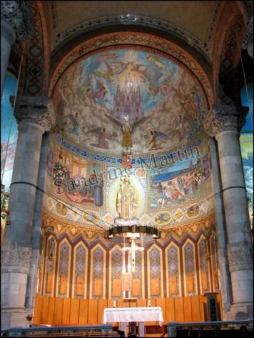 Barcelone - Mont Tibidabo - Eglise
